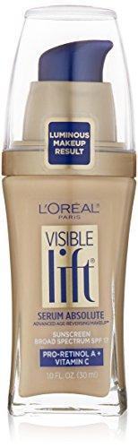 (L'Oréal Paris Visible Lift Serum Absolute Foundation, Light Ivory, 1 fl. oz.)