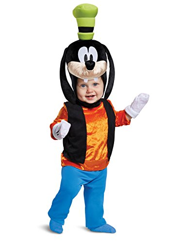 Disguise Baby Boys Goofy Classic Infant Costume, Orange, 12-18m -
