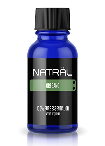 NATRÄL Oregano, 100% Pure and Natural Essential Oil, Large 1 Ounce Bottle