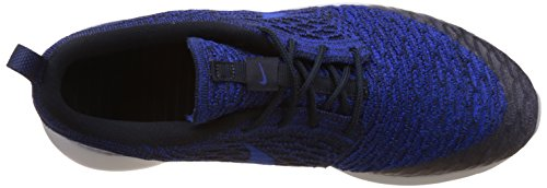 Nike dark Royal pr Course Blue deep Femme Chaussures Flyknit Blue racer De Roshe One Bleu Obsidian Ox81rOa