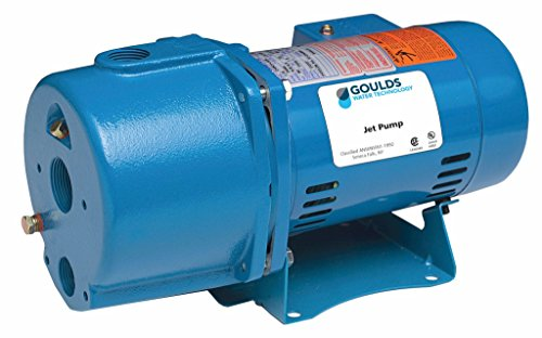 Goulds JRD10 Convertible Jet Pump 1 HP 1 PH