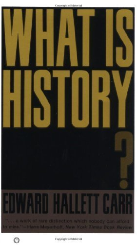 What Is History? by Carr, Edward Hallet (1967) Paperback