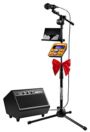 Singtrix Party Bundle Premium Edition Home Karaoke System - #SGTX1 (Singing Shark compare prices)