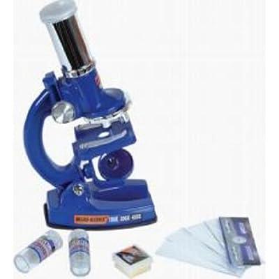 Rhode Island Novelty Microscope 100X-200X-450X: Industrial & Scientific