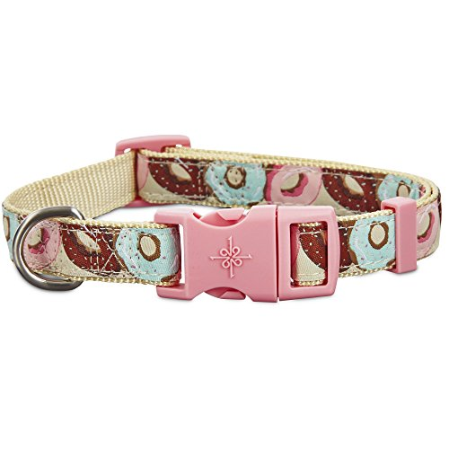 Good2Go Donut Print Dog Collar, Small