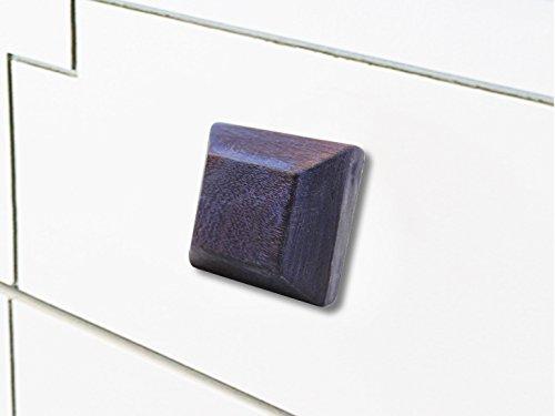 IndianShelf Handmade 16 Piece Wooden Purple Square Artistic Drawer Knobs/Cabinet Pulls by Indian Shelf (Image #8)