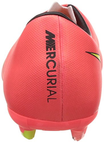 Nike 651634 690 Jr Mercurial Victory V Fg Jungen Sportschuhe - Fußball Red (Hyper Punch/Metallic Gold Coin/Black/Volt)