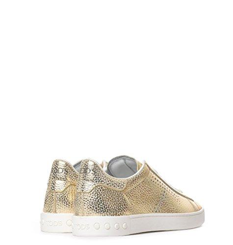 Sneakers Xxw12a0t490pe1g203 Oro Pelle Donna Tod's dRUqZd