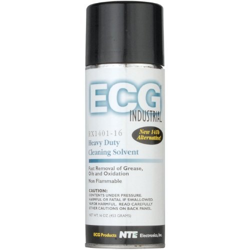 (ECG RX401-16 Electronics Contact Cleaner Degreaser and Wash, 16 oz. Aerosol)