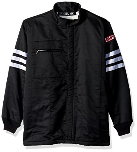 Simpson Racing 0404412 Gabardine Blue X-Large Nomex 2-Layer Driving Jacket by Simpson Racing