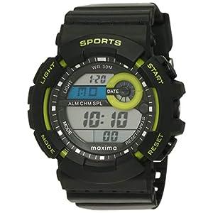 Maxima Fiber Digital Black Dial Men's Watch – 32862PPDN