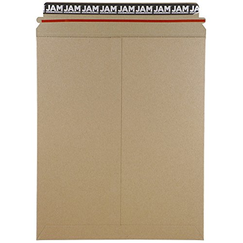hoto Mailer Envelopes - 11 x 13 1/2 in - Brown Kraft - Pack of 6 Envelopes (Simpson Kraft Recycled Envelopes)
