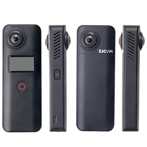 SJCAM SJ360 Plus panoramic Wifi Action Camera 360 Degrees VR Handheld Full Visual Surround Panoramic Mini Camcorder by SJCAM