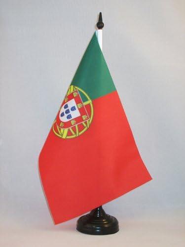 AZ FLAG Bandera de Mesa de Portugal 21x14cm - BANDERINA de ...