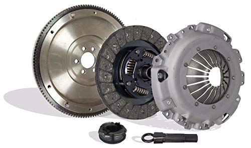 Clutch And Flywheel Kit Works With Vw Beetle Golf Jetta Gl Gls Europa Cabrio Comfortline Trendline 1998-2006 2.0L l4 GAS SOHC Naturally Aspirated (AEG Gasoline; MK4 model only)