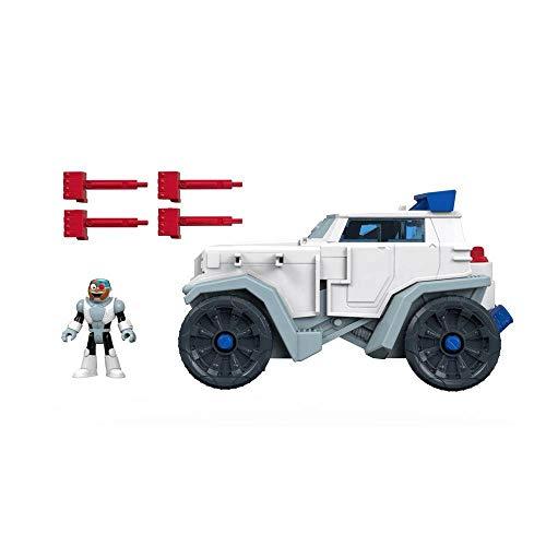 Imaginext Teen Titans Go Veiculo Do Cyborg Mattel Multicor