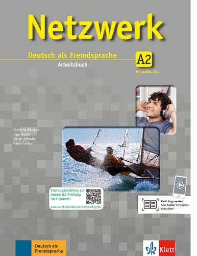 Netzwerk: Arbeitsbuch A2 mit 2 Audio-CDs