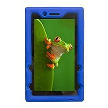 """Bobj for Lenovo Tab 3 7 Essential, TB3-710F, TB3-710I, (Not for Lenovo Tab 3 """"non-Essential"""" models) - BobjGear Protective Tablet Cover (Batfish Blue)"""
