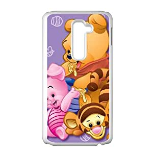 LG G2 Cell Phone Case White Winnie the Pooh 004 PW1498707