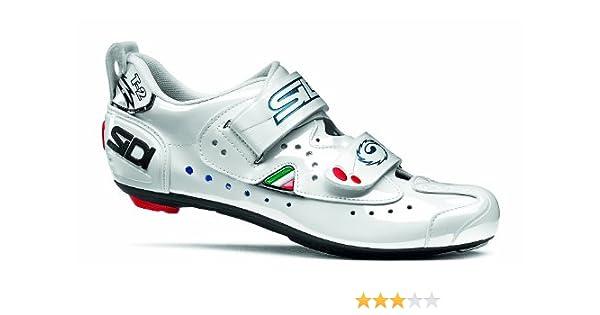 Sidi T2 CC, Zapatillas de Ciclismo para Mujer, White Lucido, 42 EU ...