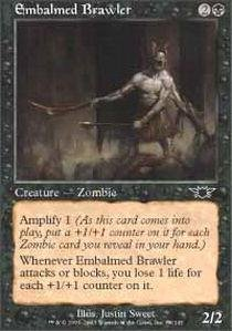 (Magic: the Gathering - Embalmed Brawler - Legions - Foil by Magic: the Gathering)