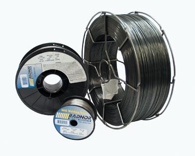 Radnor RAD64001408 .035'' E71T-11 71T-11 Self Shielded Flux Core Carbon Steel Tubular Welding Wire 10# Spool, English, 15.34 fl. oz, Plastic, 1 x 1 x 1