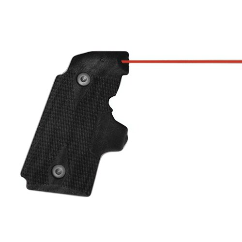 Crimson Rubber Trace (Crimson Trace LG-409 Kimber Micro 9 Lasergrips Red)