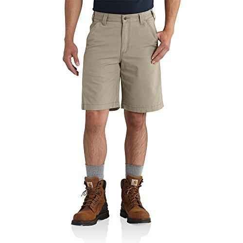 Carhartt Men's Rugged Flex Rigby Short, Tan, W38