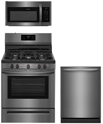 Frigidaire 3-Piece Black