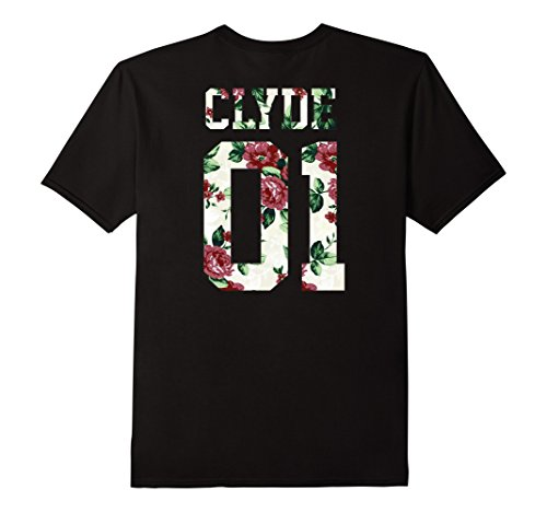 Bonnie And Clyde Outfits (Mens Bonnie and Clyde Matching Couple Shirts Outfits T-shirts Tee Medium Black)