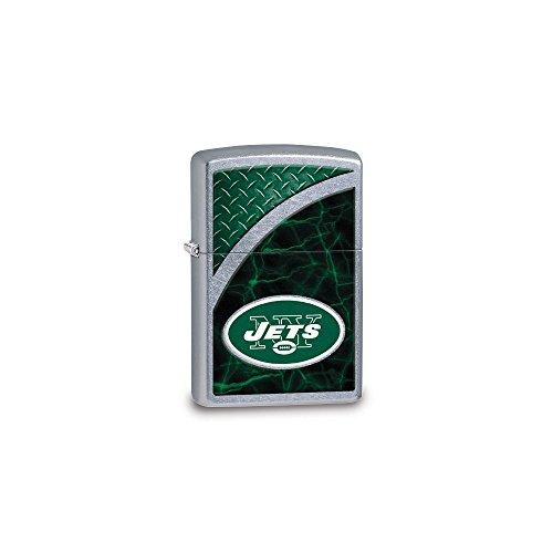 NFL Zippo New York Jets Street Chrome (Jet Italian Charm)