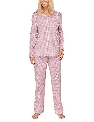 Seidensticker Seidensticker Pyjama Lang - Pijama Mujer rojo (pink 504)