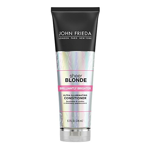 John Frieda Sheer Blonde Brilliantly Brighter Ultra Illuminating Conditioner, 8.3 Ounces