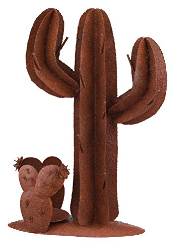Regal Art & Gift Rustic Cactus Decor, 16-Inch