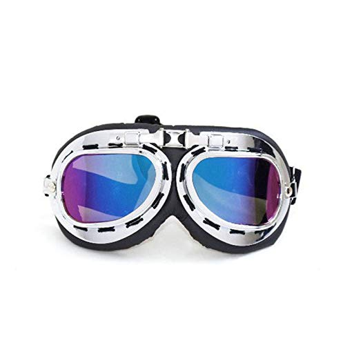 Mirror Polarized Rear View (Aooaz Motorcycle Goggles Outdoor Sports Tactical Glasses Multicolor)
