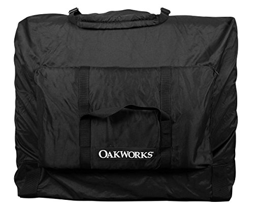 Oakworks Essential Carry Case, Black, X-Large, 2 Pound (Oakworks Massage Table One)