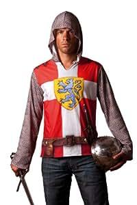 Cesar B808-007 - Camiseta efecto disfraz de caballero medieval, talla 64