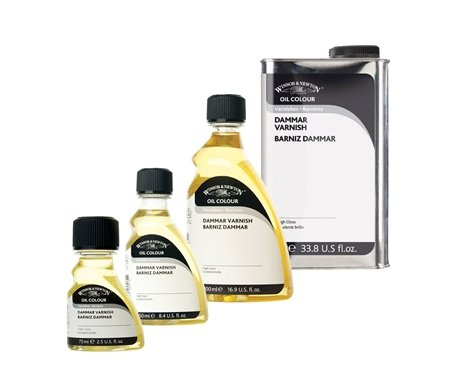 W&N Damar Varnish, 75ml bottle by Winsor & Newton