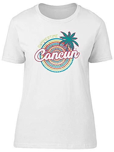Cancun Beach Summertime Tee Women's -Image by Shutterstock from Teeblox