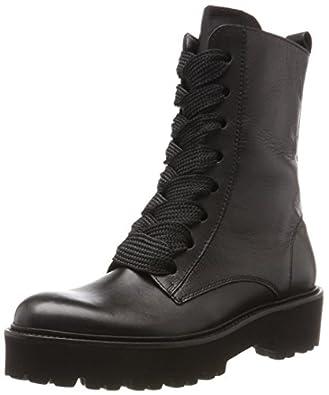 Kennel und Schmenger SchuhmanufakturBobby - Stivali Combat Donna , nero (nero (nero)), 36 EU