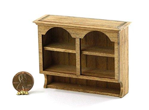 Cupboard Wall Pine (Dollhouse Miniature 1:12 Scale Pine Wall Cupboard by Sir Thomas Thumb)