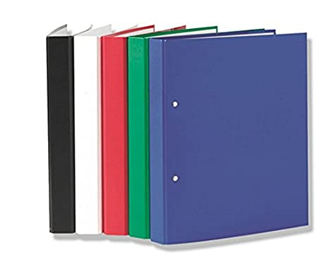 5 Ringbücher DIN A5 Ringbuch 2-Ring Ordner 1x rot blau schwarz weiß grün