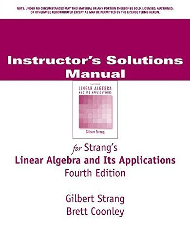 Linear Algebra & Its Applications by Gilbert Strang (1998-07-03)