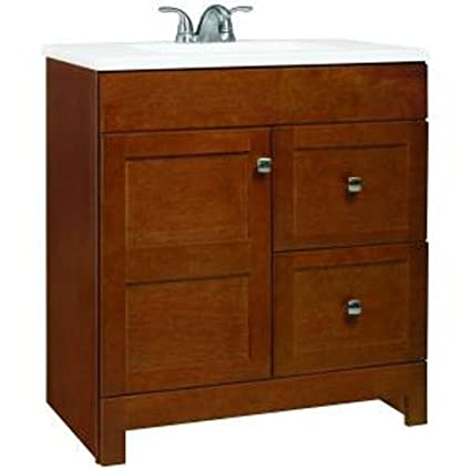 Attirant American Classics By RSI PPARTCHT30DY Artisan 30 Inch Vanity, Chestnut With  Cultured Marble Vanity