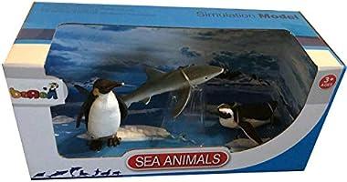 Hayvanlari Taniyalim Deniz Hayvanlari Seti Ozel Seri 3 Kutu
