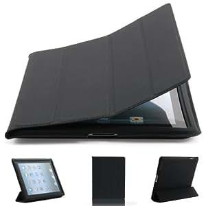 Macoon SoftSkin - Funda para Apple iPad (soporte de sobremesa), color negro