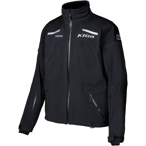 Klim Mens Stealth Winter Sport Snowmobile Jacket - Black / Medium