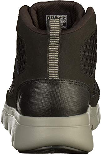grey Skechers Mens Boot Mushogee Marauder Black rYXrq