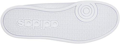 adidas Unisex-Kinder Vs Advantage Clean K Gymnastikschuhe, Bianco Bianco ( Ftwbla/Ftwbla/Azul)