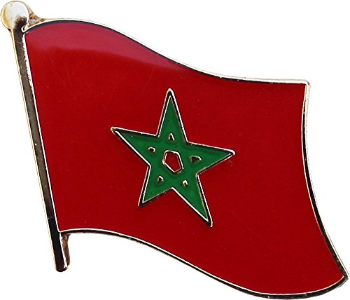 National Lapel Pin (Morocco - National Lapel Pins)